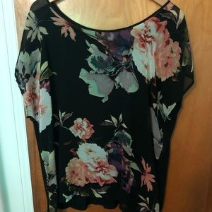 Flowery top! Super cute and lightweight